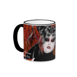 Beautiful Rage Gothic Vampire Art Mug mug