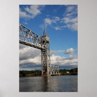 Beautiful Railroad Bridge Posters