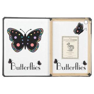 Beautiful Rainbow Butterflies iPad Air Cover