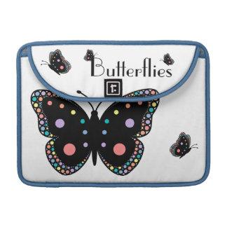 Beautiful Rainbow Butterflies Sleeve For MacBooks