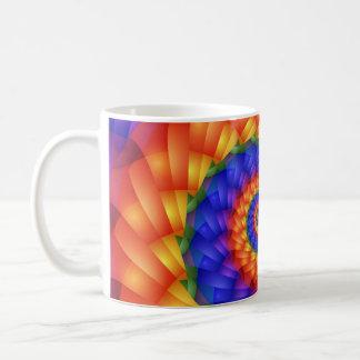 Beautiful Rainbow Spiral Mug