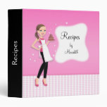 Beautiful Recipe Binder Illustrated
