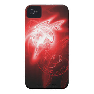 Beautiful Red Energy iPhone 4 Cover
