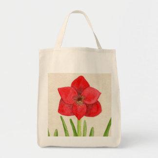 Beautiful Red Flower bag