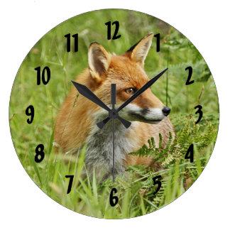 Beautiful Red Fox / Vixen Wallclock