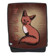 Beautiful Red Foxy Fox Backpack