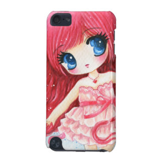 Beautiful red-haired girl iPod touch 5G case