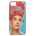 Beautiful Red Head Mixed Media iPhone 5C Cover