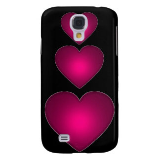Beautiful Red Heart Samsung S4 Case