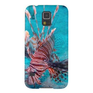 Beautiful Red Lion Fish Galaxy S5 Cases