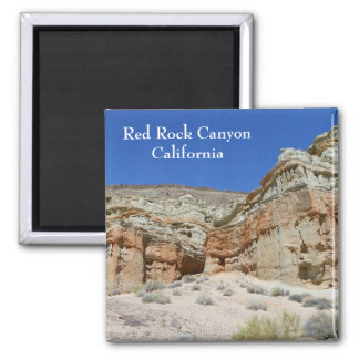 Beautiful Red Rock Canyon Magnet! 2 Inch Square Magnet