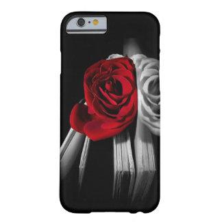 Beautiful Red Rose in book iPhone 6 Case