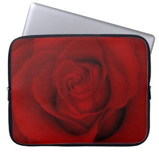 Beautiful Red Rose Laptop Sleeve