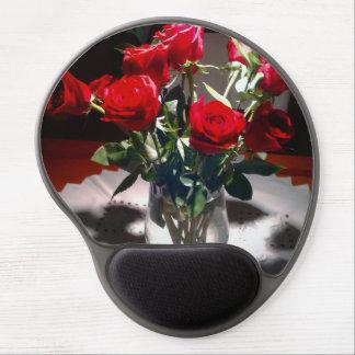 BEAUTIFUL RED ROSE MOUSEPAD GEL MOUSE PAD