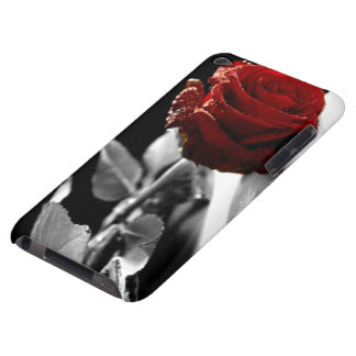 Beautiful Red Rose with Black & White background Case-Mate iPod Touch Case