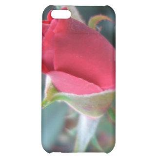 Beautiful Red Rosebud CricketDiane Roses iPhone 5C Cover