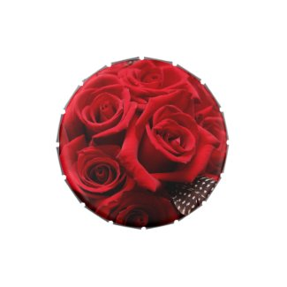 Beautiful Red Roses Jelly Belly Tin