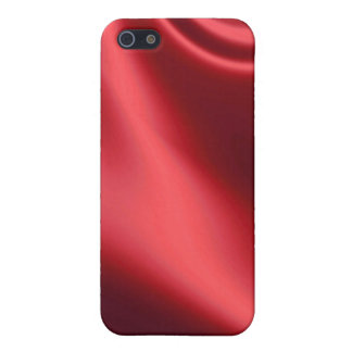 Beautiful Red Satin iPhone SE/5/5s Cover