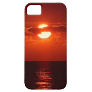 Beautiful red sunset iPhone SE/5/5s case