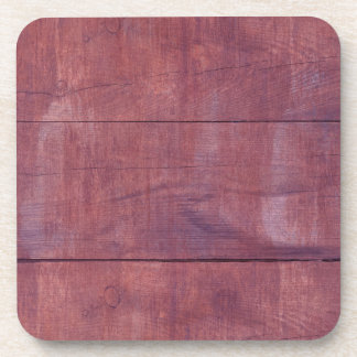 Beautiful Red Wood Texture Coasters