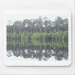 Beautiful reflective image of lake in Georgia Mousepad