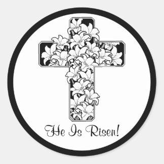 Beautiful! Rejoice - He is Risen Stickers