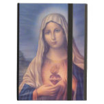 Beautiful Religious Sacred Heart of Virgin Mary iPad Cases