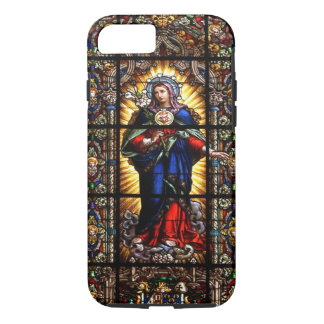 Beautiful Religious Sacred Heart of Virgin Mary iPhone 7 Case