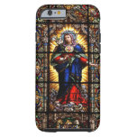 Beautiful Religious Sacred Heart of Virgin Mary Tough iPhone 6 Case