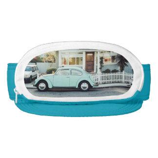 Beautiful retro vintage turquoise car photography visor