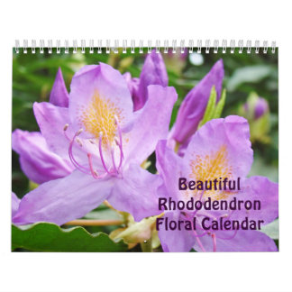 Beautiful Rhododendrons Floral Calendar Rhodies