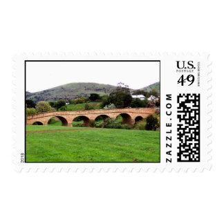 Beautiful Richmond Bridge At Tasmania Stamp