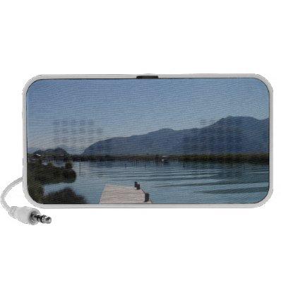 Beautiful River iPod Speakers