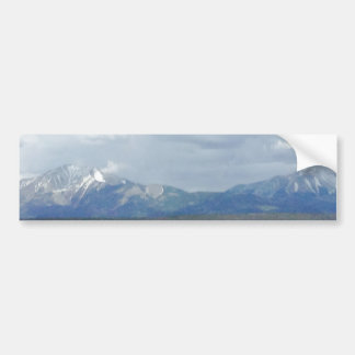 Beautiful Rockies Mountain Bumper Sticker