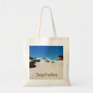 Beautiful rocky coast in Seychelles Tote Bag