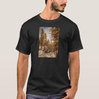 Beautiful Rocky Mountain Winter Day T-Shirt