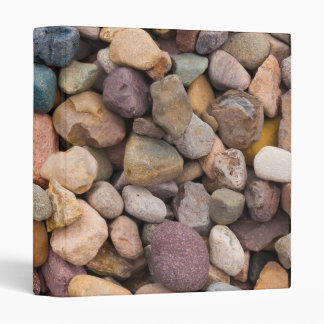 Beautiful Rocky Pebble Texture 3 Ring Binder