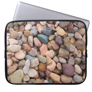 Beautiful Rocky Pebble Texture Computer Sleeve