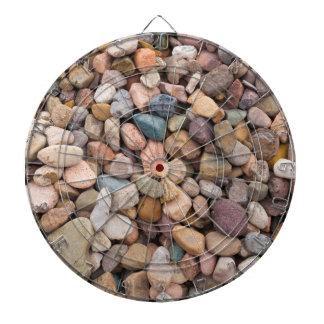Beautiful Rocky Pebble Texture Dartboard