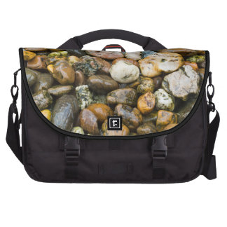 Beautiful Rocky Pebble Texture Laptop Bags