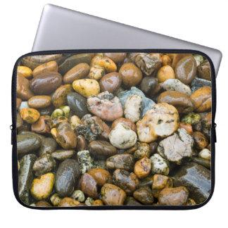 Beautiful Rocky Pebble Texture Laptop Sleeve