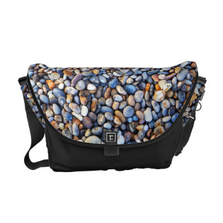 Beautiful Rocky Pebble Texture Courier Bag