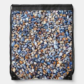 Beautiful Rocky Pebble Texture Cinch Bag