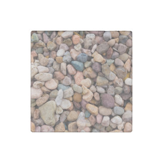 Beautiful Rocky Pebble Texture Stone Magnet