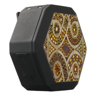 Beautiful Romanesque Mosaic Black Bluetooth Speaker