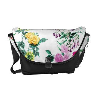 Beautiful romantic Girly Flower Design Messenger Bag