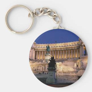 Beautiful Rome, Italy Basic Round Button Keychain