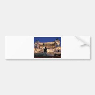 Beautiful Rome, Italy Bumper Sticker