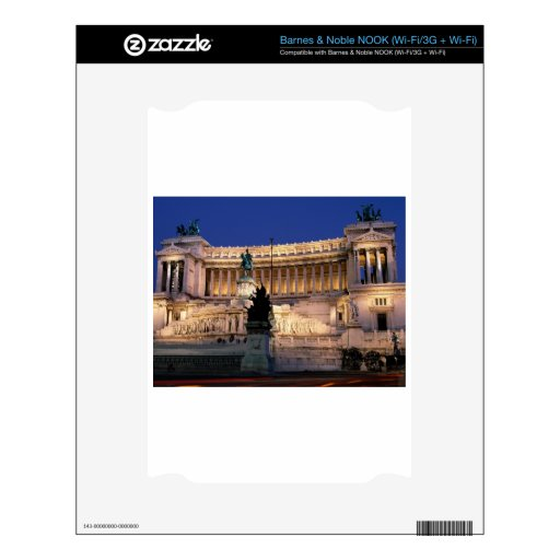 Beautiful Rome, Italy Decal For NOOK