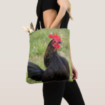 Beautiful Rooster on Both Sides Tote Bag
